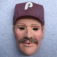 Vintage Philadelphia Phillies Larry Anderson Budweiser Promo Halloween Mask 1985