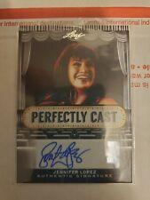 2013 JENNIFER LOPEZ  Leaf Pop Century Perfectly Cast Signatures PC-JL1 Autograph