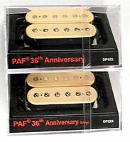 DiMarzio Regular Spaced PAF 36th Anniversary Neck & Bridge Humbucker Set Cream