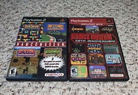 Namco Museum Original & 50th Anniversary PlayStation 2 PS2 Lot Bundle
