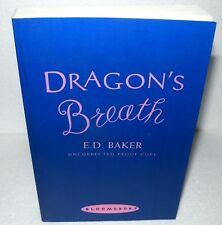 Dragons Breath, E.D. Baker,  Paperback, Uncorrected Proof, 2003 - Bloomsbury