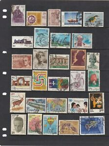 Huge India  Stamp Mix Wide Range As Per Scans Many Types (6 Scans)
