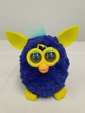 Furby Boom Starry Night 2012 Yellow Blue Pet Toy