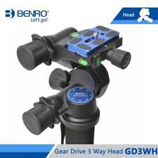 Benro GD3WH Head Gear Drive 3 Way Head Three-Dimensional Heads Max Loading 6kg