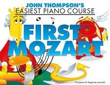 John Thompsons más fácil Piano Curso Mozart aprender a jugar principiante música Libro