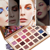 24 Color Women Shimmer Glitter Eye Shadow Powder Matt Eyeshadow Cosmetic Makeup