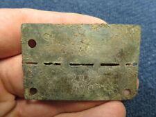 Wwii German Stalag 366 Pow Prisoner Of War Camp Dog Tag-Original