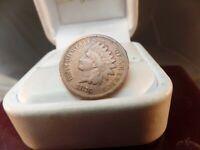 1876 Indian Head Cent  Key Date Fine Detail  # C1630