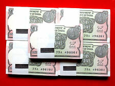1-ONE RS. 100 SERIAL NOTES OF NEW BUNDAL BACK SIDE BOMBAY HIGH - 2015 -INDIA