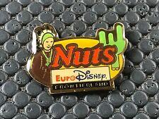 PINS PIN BADGE BD DISNEY NUTS FRONTIERLAND EURODISNEY