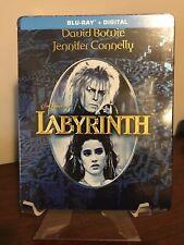 Labyrinth Steelbook (Blu-Ray, Digital HD, FYE Exclusive, OOP) Factory Sealed