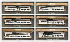 6pcs/set 1/6 Scale Battle GUN WWII Weapon Sniper G43 SVT RPG M200 KAR98K 38Rifle