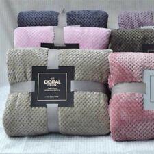 Microfiber Blanket Anti Pilling Acrylic Home Spring Polar Cover Thick Bed Fleece