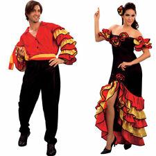 Spanish Rumba Couples Costumes