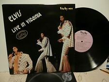 "elvis presley""live in virginia""1972.lp.italie:vicky 0214.de 1989."