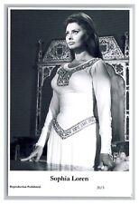 Sophia Loren (C) Swiftsure Postcard year 2000 modern print 20/3 glamour photo