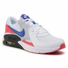 Zapatos Nike Air Max Hombre Niño CD6894 101 Excee GS Blanco Azul Rojo Originales