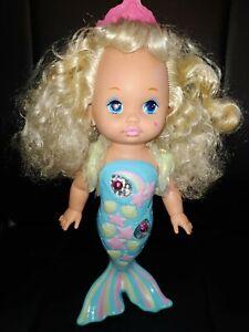 Lil Miss singing Mermaid Meerjungfrau 1988-91, Vintage 80's 90's Puppe singt