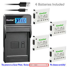 Kastar Battery LCD Charger for Canon NB-11L CB-2LF & Canon IXUS 125 HS IXUS 132