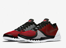 NIKE MEN FREE TRAINER 3.0 V4 RED WHITE BLACK 11 NEW 749361-601
