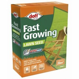 500g GRASS SEED HARD WEARING LAWN SEEDS TOUGH FAST GROWING COVERS UP TO 20M²