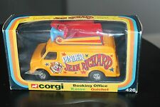 CORGY TOYS 426 * CHEVROLET * PINDER CIRCUS BOOKING * 1:36 * OVP * TOP