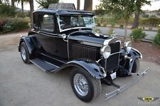 1930 Ford Model A 5-WINDOW STEEL CALIFORNIA STREET ROD