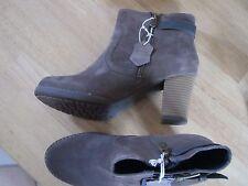Tom Tailor Damen Stiefelette Boots, sand, Größe 38,  Amazon-Neupreis 69,95€