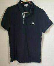 BURBERRY BRIT Women's Polo Shirt in Black Size XL
