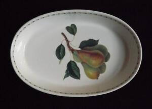 "Rosina Queen's Hooker Fruit Oval Baker 13"" PICTURES WITHIN DESCRIPTION"