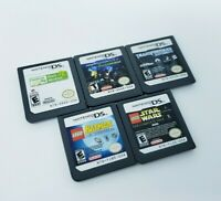 Nintendo DS Game Lot Transformers Lego Star Wars Batman Mech Lite DSi XL 3DS 2DS