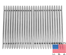 """16.5"""" X 24.5"""" Custom Grill Grate 3/8"""" Stainless Steel Grates  MADE IN USA"""