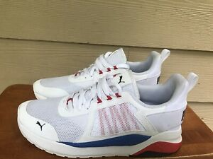 Puma Anzarun 371131-03 Men's Athletic Training Sneakers White Size 8