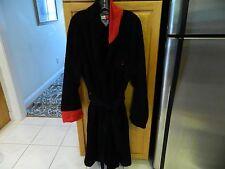 Tommy Hilfiger Mens Wrap Style 100% Cotton Terry Cloth Bath Robe LS OS XL Navy