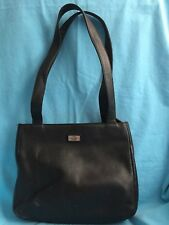 The Sak Black Zip Closure Outside Pockets Medium Purse Bag