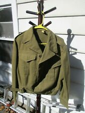 Vintage Mint 1952 Australian Military Ike Jacket Ellinson Bros M Battledress