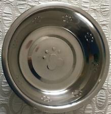Stainless Steel Metal Dog Cat Puppy Pet Animal Feeding Food Water Bowl
