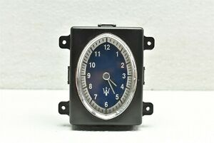 2003-2012 Maserati Quattroporte Center Dash Clock 207452 OEM 03-12