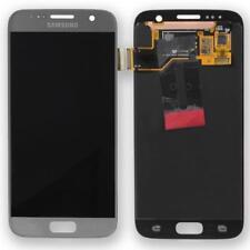 Original Samsung Galaxy S7 G930F Pantalla LCD Servicio embalar gh97-18523b PLATA