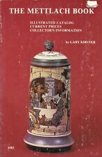 German Mettlach Steins Plaques Beakers - Types Marks Values / Scarce Book