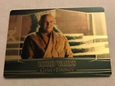 2017 Game of Thrones Valyrian Steel LORD VARYS GOLD PARALLEL Card #rd 36/100