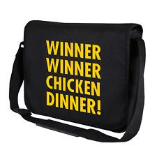 Cena de pollo ganador ganador. Nerd   Gamer   Geek   Bolso bandolera