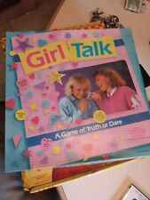 Vintage 1988 Girl Talk Board Game Golden No. 4237