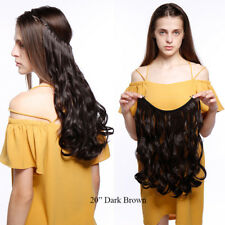 Miracle Wire Secret Line 100% Thick Hair Extensions Invisible As Human darkbrown