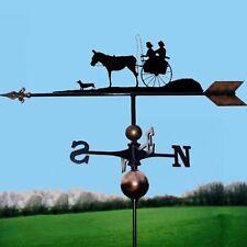 Coach / Carriage & Horse Weathervane - Handmade  - Very High Quality