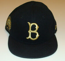 New Era Boston Red Sox 59fifty 7 1/2 Cap Hat MLB 59th Anniversary Cashmere Gold