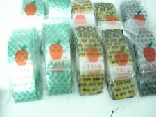 1000 apple small bags with designs random styles sent