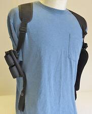 "Gun Shoulder Holster with Ammo Pouch TAURUS 44 Magnum Large Revolver 6 1/2"" BBL"