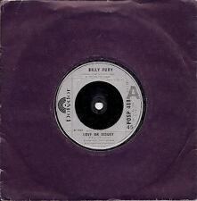"Billy Fury Love Or Money UK 45 7"" single +Love Sweet Love"
