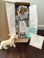 "1993 15"" handcrafted porcelain ""Little Bo Peep"" doll by Wendy Lawton/AshtonDrake"